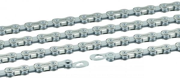 10219 Fahrradkette, Wippermann Connex 904, 1/2 x 11/128, 114 Glieder, Nickel/ Stahl, EK
