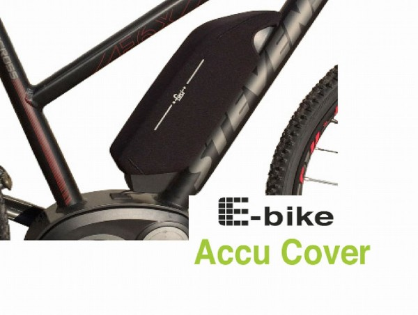 13104 E-Bike Akku Cover Unterrohr, hochwertigem Neoprene, für BOSCH Powerpack 300/400/500