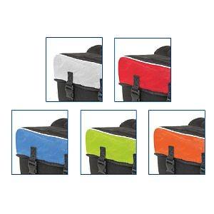 Doppel-Gepäckträgertasche, Amsterdam Double, ca. 30 Liter, Reflex, farbig