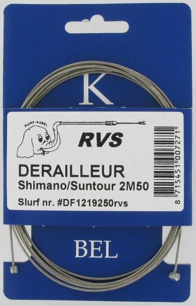 09303 Innenzug für Schaltungen, Ø 1.2 x 2100 mm, 4x4 und 5x3, NIROSTA, Universal
