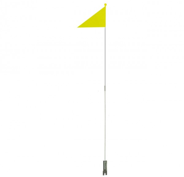 01960 Sicherheitswimpel, neon-farbener Wimpel, zweiteilig, Top-Kugel