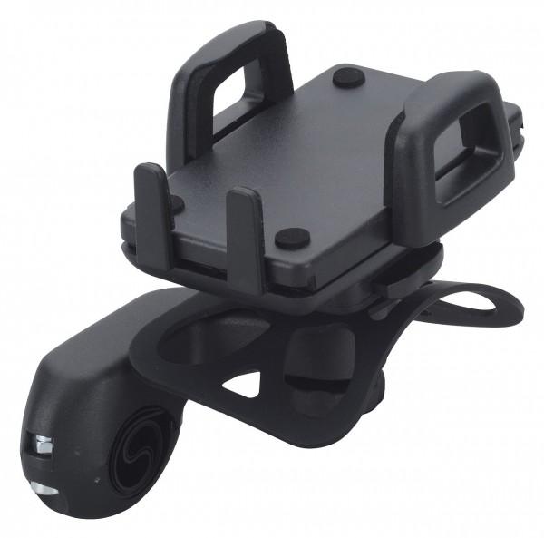 16764 Smartphonehalter, ergotec, Lenkermontage, Ø 22.2 & 31.8 mm, schwarz