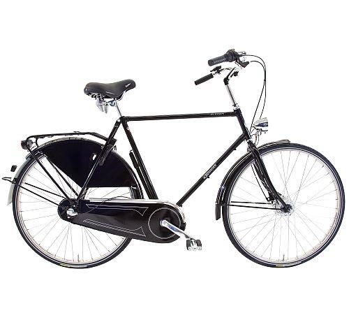 911365 Rossborn Plezier Nostalgie, Shimano Nabendynamo+Rollerbrake, Shimano 3 Gang, Herren, 65 cm