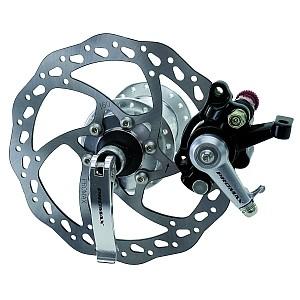03116 Set Scheibenbremse mechanisch, inkl. Bremsscheibe, Nabe, Bremskörper, für HR