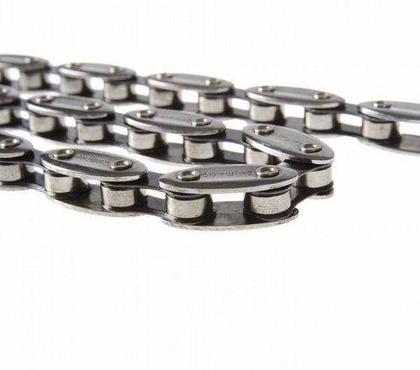 """Fahrradkette 1/2 x 1/8"""", 114 Glieder, CN-NX01 Olive Chain, Korrisionsbeständig"""