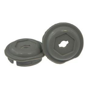 30264 Abschlusskappe für Kurbel, in schwarz, grau oder silber