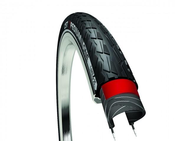 72262 Decke Expedium ONE, CST-Tires, E-Bike 25 km/h, 28 x 1.5/8 x 1.3/8, 37-622, schwarz-reflex