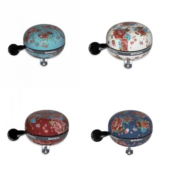 07438 Glocke Big-Bell Bloom, 4er-Sortiment, Ø 80 mm, farbig sortiert