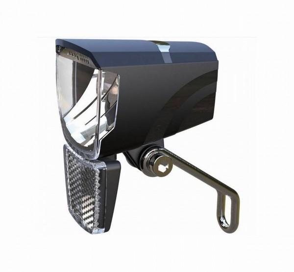 01234 LED-Scheinwerfer, SPARK 50 Lux, Schalter An/ Aus, Halter, schwarz