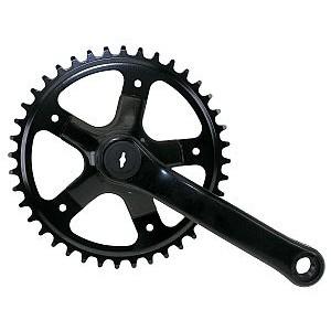 30130 Kettenrad - rechte Seite!, 1/2 x 3/32, 40 Zähne, Stahl, schwarz noch 2 Stück
