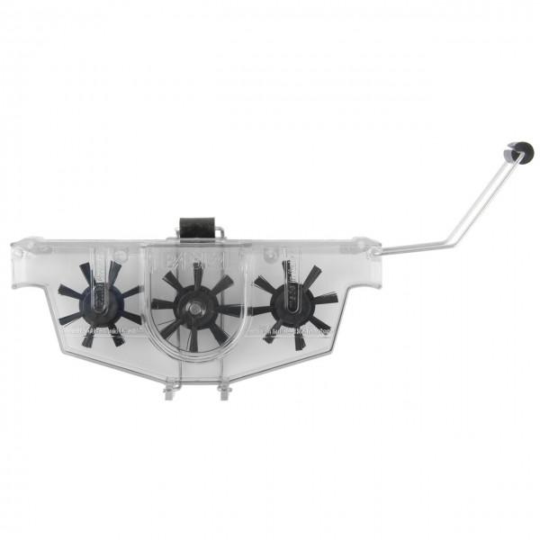 10355 Ketten-Reinigungsgerät, Kett-Jet, Nylon-Bürsten, incl. Reinigungsflüssigkeit