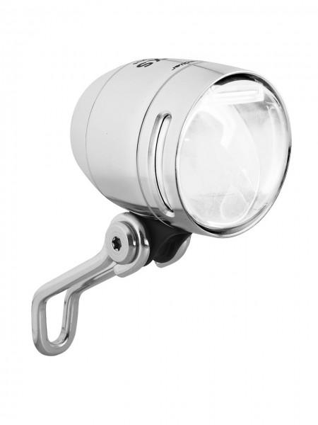01276 LED Scheinwerfer IQ-XS T, 70 Lux, Senso Plus, Schalter, Sensor, ALU, silber