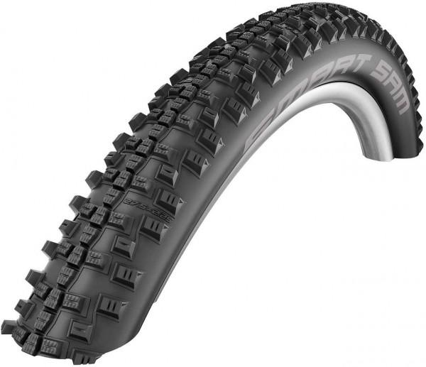 """02244 Fahrrad-Decke 27,5"""", 54-584 (27.5 x 2.10) 650B, Smart Sam, ADDIX, HS476, schwarz, Schwalb"""