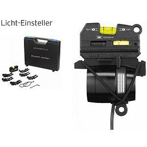 Licht-Einsteller, Bumm, Typ 1516LC3, Koffer-Set mit Messeinheit und Adapter