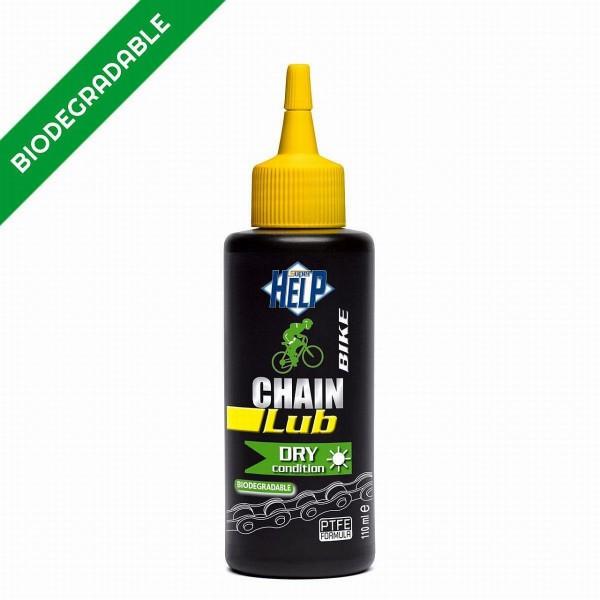 900 Kettenschmierstoff Chain Lub DRY, 110 ML, Speziell für trockene, staubige Bedingungen, mit PTFE,