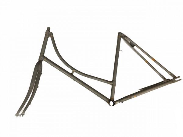 "95000-60 Holland Nostalgie-Rahmen, Damen, 60 cm, 28x1.1/2"", Stahl, + VR-Gabel, roh/ unlackiert"