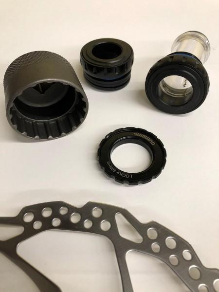"""32231 Montage-Werkzeug für Innenlager Hollowtech II, Truvativ, FSA & Centerlock, Aufnahme 1/2"""" & 24"""