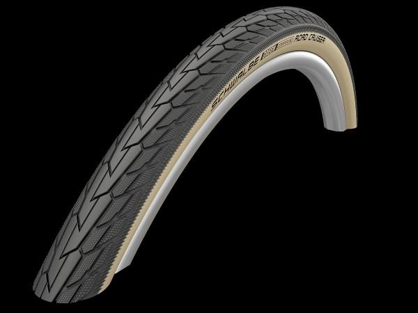 "02252 Fahrrad-Decke 28"", 37-622 (28 x 1.3/8, 28 x 1.40, 700x35C) Road Cruiser, schwarz/ Goldwand"