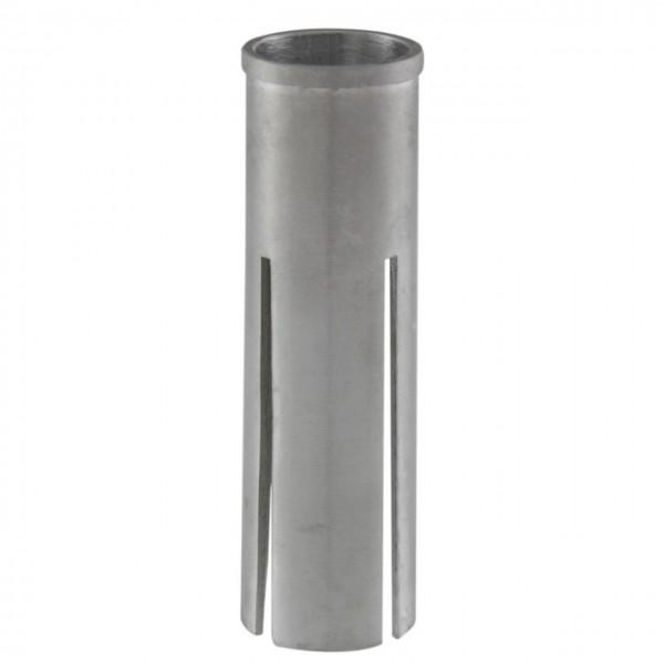 """16723 Reduzierhülse, Ausgleichshülse von 1 1/8"""" auf 1"""", Aluminium, silber"""