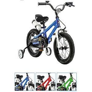 """14"""" Kinderfahrrad Freestyle, Royal-Baby, Variante FREILAUF/ Felgenbremse, in blau, rot oder grün"""