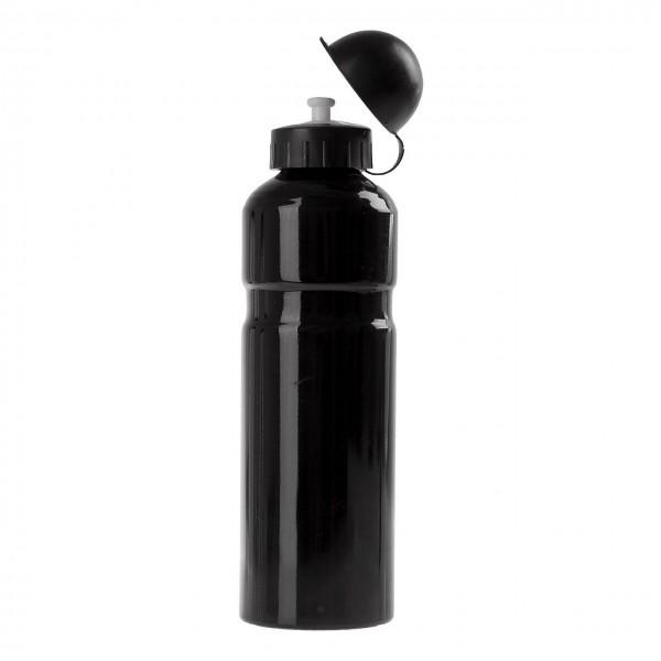 31344 Trinkflaschen, 0.75 Liter, Aluminium, schwarz