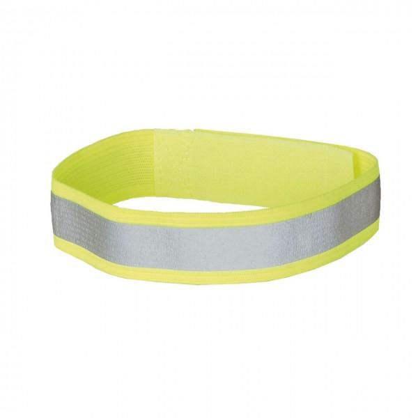 01709 Stretch-Reflexband, Hosen-/ Armband, SOFT, paarweise, neon-gelb
