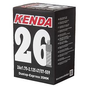"92189 Fahrrad-Schlauch 28"", ETRTO 28/47-622/635, DV 40 mm, KENDA"