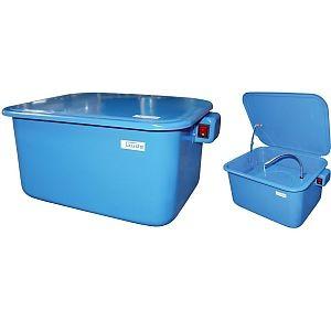 40850 Teilewaschgerät, 13 Liter Volumen 460 x 340 x 230 mm, mit Deckel, mit Schalter, Pumpe