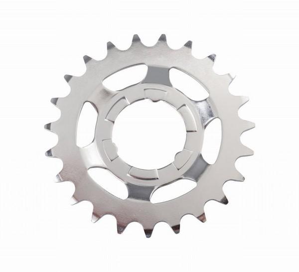 70433 Ritzel/ Steckzahnkranz 23 Zähne, 2.3 mm, Silber für Getriebenaben SM-GEAR, Shimano