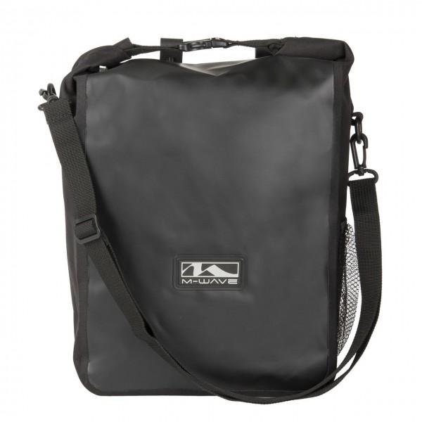 13225 Seitentasche EDMONTON, 100% Wasserdicht, 16 Liter, Clip-ON Halter, schwarz