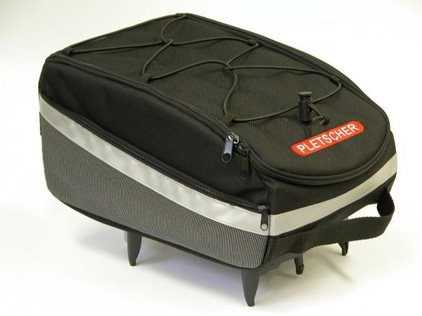13400 Freizeit-Tasche Sport, Pletscher, 12 Liter, schwarz