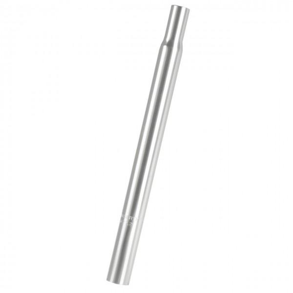 24722 Aluminium Sattelstütze, Kerze, 28.6 x 300 mm, silber