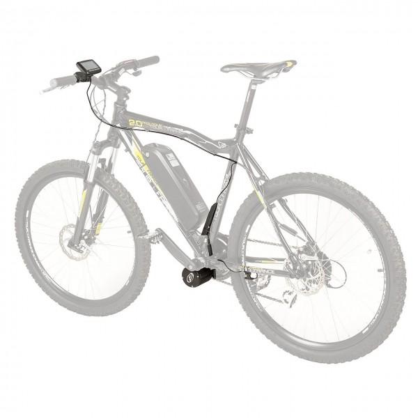 610010 E-Bike Kit, Nachrüstsatz Universal, Mittelmotor, 25 km/h, 36 Volt, 250 Watt, für Fahrräder 20