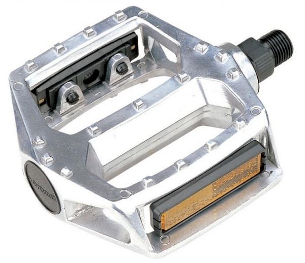 """20243 BMX-Pedale, Marwi, Aluminium, BMX, 1/2"""", silber poliert"""