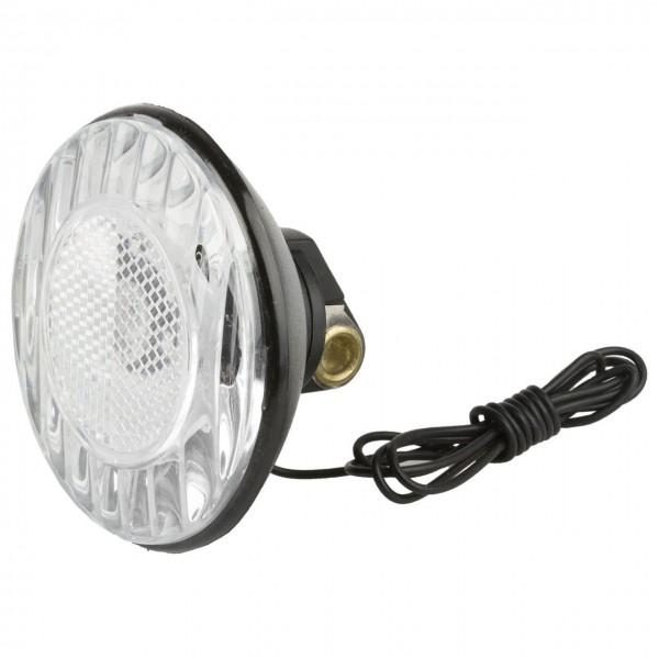 01214 Scheinwerfer, 6 V - 2.4 W, schwarz, rund, integrierter Reflektor