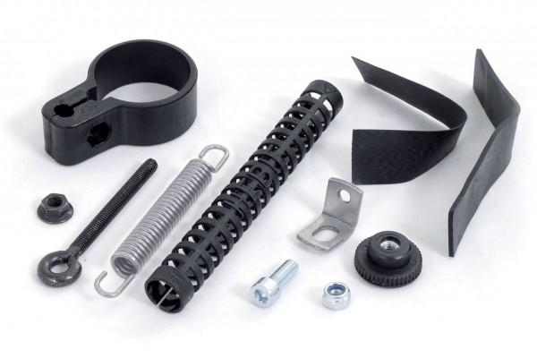 00110 Lenkungsdämpfer, Rahmen-Ø 28 - 32 mm, schwarz