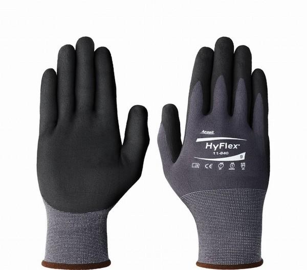 19450 Arbeits-/ Werkstatt-Handschuhe, Größe 7 (S), Sensilite, PU-beschichtet, schwarz