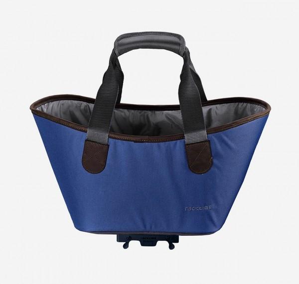 13422 Agnetha Fahrradtasche, Racktime, Snap-It, 34 × 25,5 × 37 cm, 15 Liter, berry blue