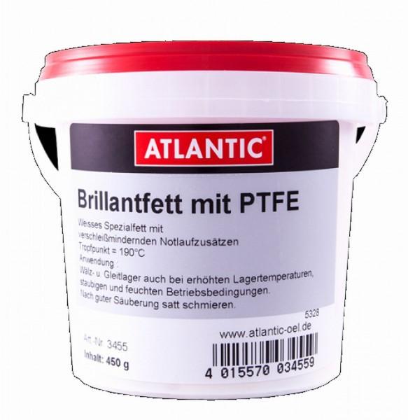 19132 Brillantfett PTFE, 450 g Eimer, Teflon, weißes Spezialfett