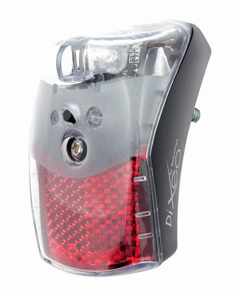 01442 Led Rücklicht Pixeo XB, Batteriebetrieb, Schutzblechmontage