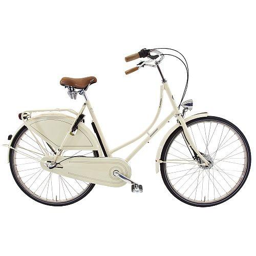 901357e Rossborn Plezier Nostalgie, Shimano Nabendynamo+Rollerbrake, Shimano 3 Gang, Damen, 57 cm