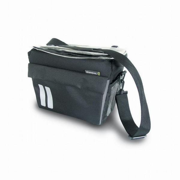 13264 Lenkertasche Sports Front Bag, 7 Liter, Reflex, schwarz