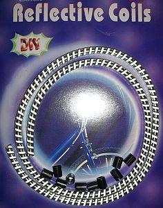 09103 Reflex-Spiralhülle für Bowdenzüge, Ø 6 mm x 1 Meter, silber