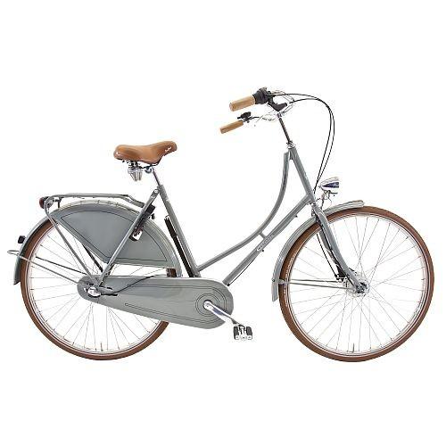 901355g Rossborn Plezier Nostalgie, Shimano Nabendynamo+Rollerbrake, Shimano 3 Gang, Damen, 55 cm