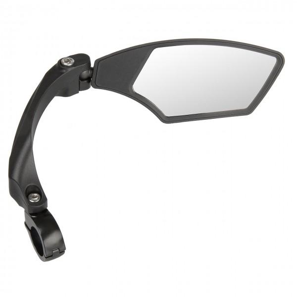 16676 Fahrradspiegel Spy Space, Rechtsmontage, verstellbar, blendfreies, schlagfestes Glas, schwarz