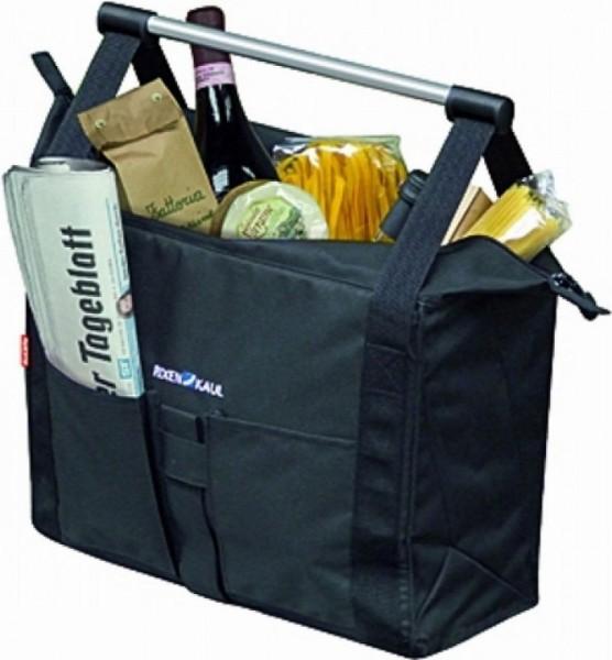 13390 Seiten-Tasche Cargo, Klick-Fix, faltbar, 18 Liter, bis 10 KG, schwarz