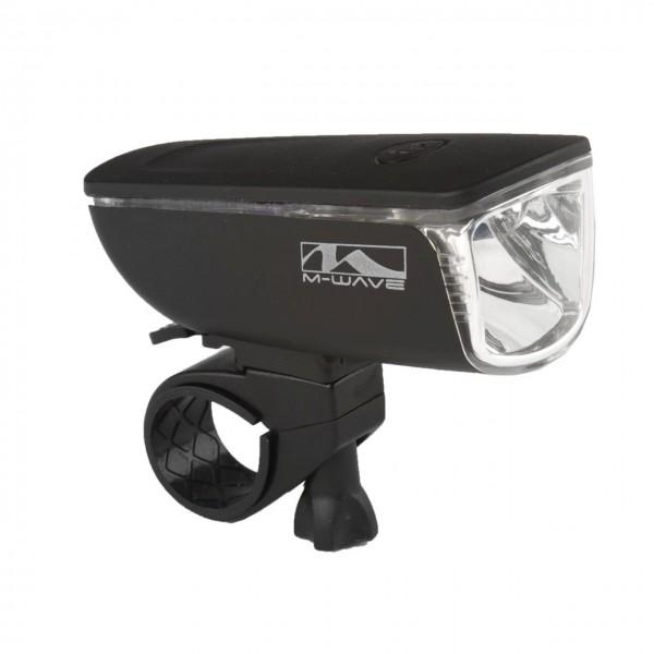 01436 LED-Scheinwerfer Apollon, 25 LUX, 1 Watt, Clip-On-Halter, incl. Batterien