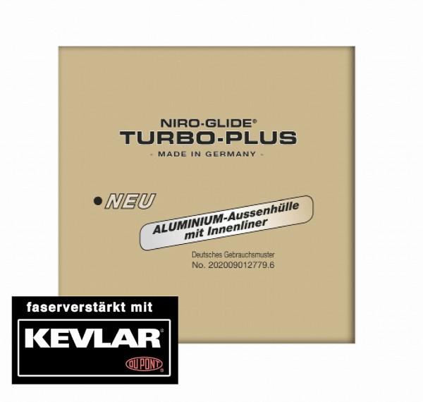 09287 Aussenhülle aus Aluminium für BREMSE, Ø 5 mm, 30 Meter, TurboPlus, mit Innenliner, schwarz