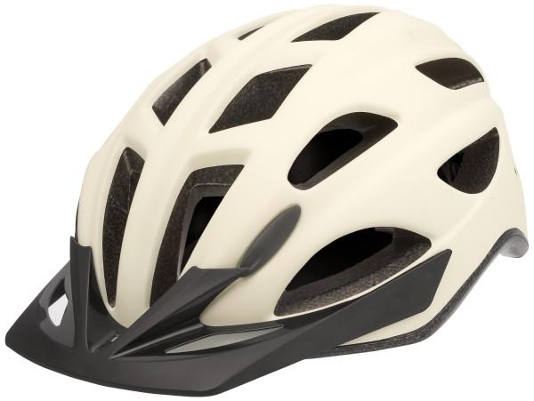 "33958 Fahrradhelm ""City Go"", Gr. M (54-59 cm), Quicksafe, LED-Licht, 2 Modi, cream-matt"