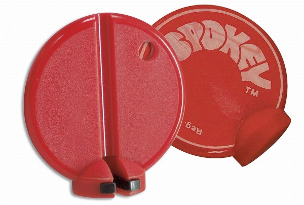 32240 Speichenspanner 3.25 mm Normalgröße, rot, KLICKfix 2195